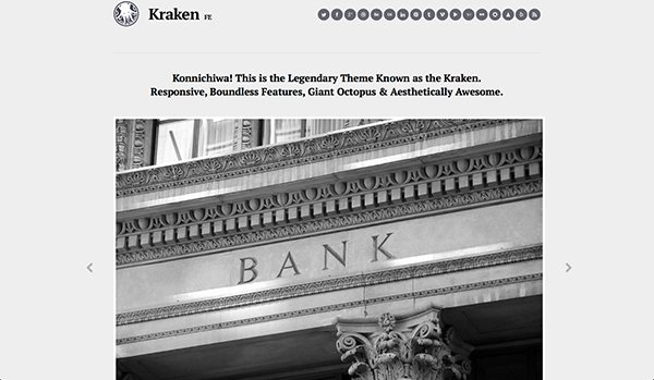 Kraken Business WordPress Theme