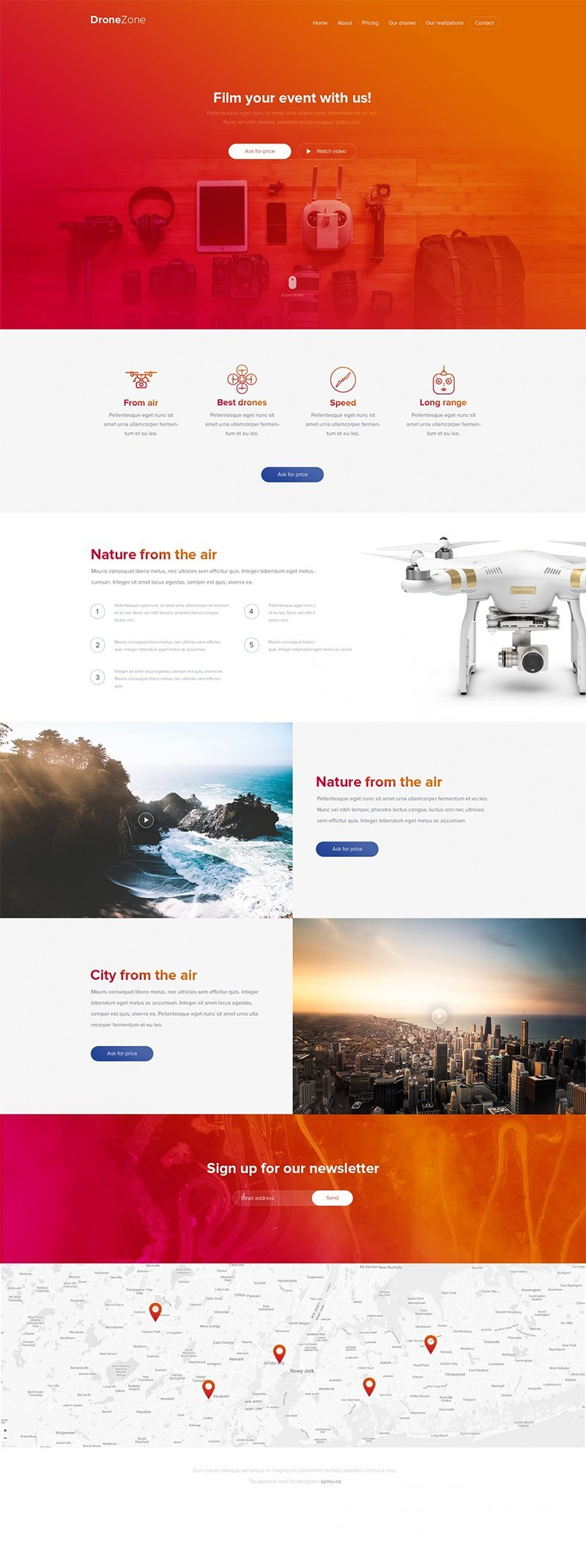 Drone-PSD-Template